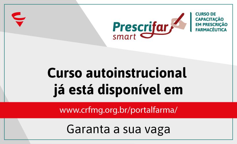 CRF/MG abre o Prescrifar com início imediato